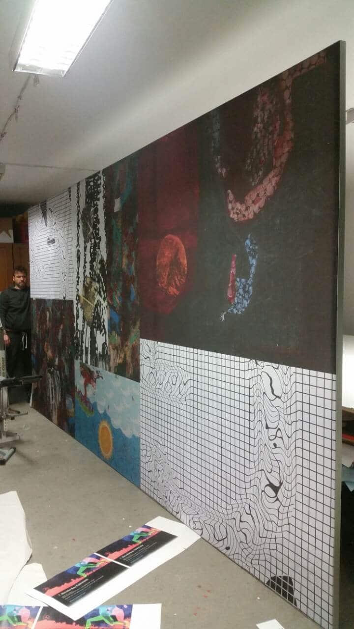 Kiállítás dekor