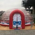 Kültéri dekor, molino készítés rövid határidővel akár másnapra, installálással