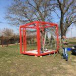 Kültéri kiállítási standok készítése tervezése
